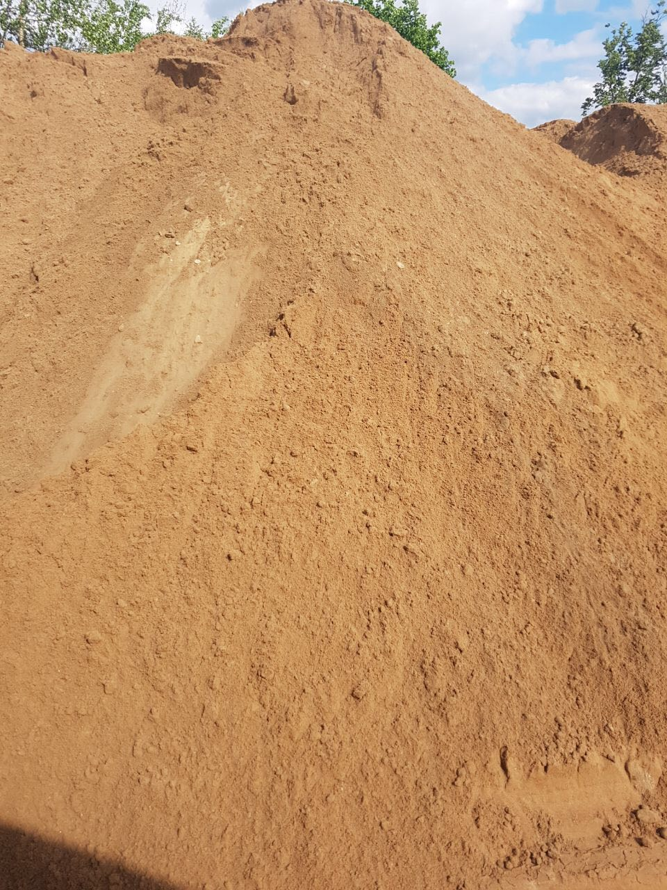 песок намывной фото