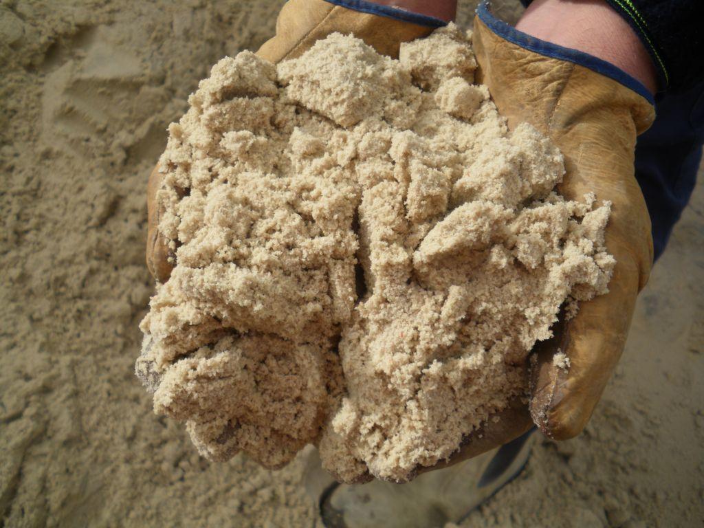песок объём